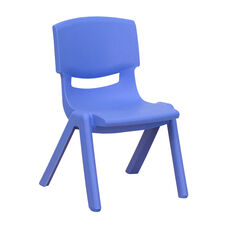 Plastic Stackable School Chair with 10.5'' Seat Height