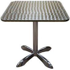Square Aluminum Indoor Table
