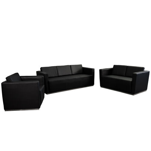 "Our HERCULES Trinity Series Reception Set in Black with <span style=""color:#0000CD;"">Free </span> Tables is on sale now."