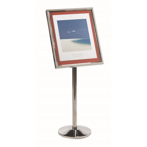 Our Single Pedestal Broadcaster with Chrome Base and Frame is on sale now.