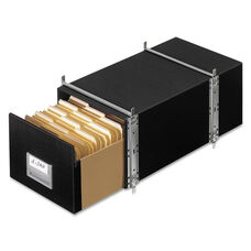 Bankers Box® STAXONSTEEL Storage Box Drawer - Letter - Steel Frame - Black - 6/Carton