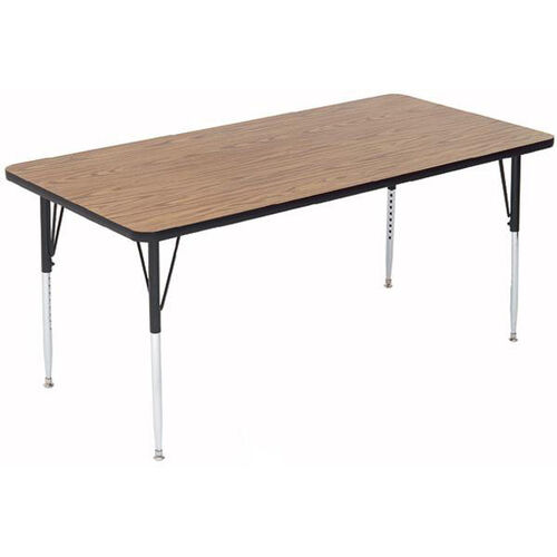 Our Adjustable Height Rectangular Laminate Top Activity Table - 30
