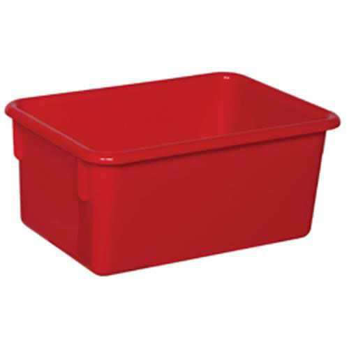 Our Solid Red Plastic Cubby Trays - Assembled - 8