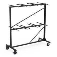 Two Tier Folding Chair Storage Rack - 31