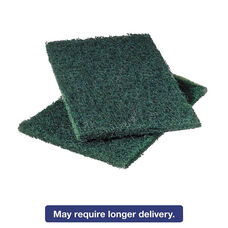 Scotch-Brite™ Professional Commercial Heavy-Duty Scouring Pad 86 - Green - 6 x 9 - 12/Pack
