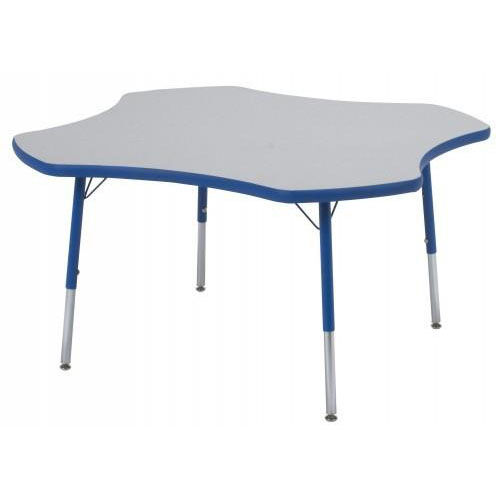 Our Clover Shaped Particleboard Juvenile Activity Table - 48