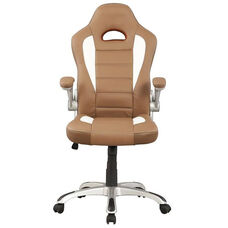 Techni Mobili High Back Sport Race Executive Chair - Camel