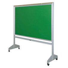 Deluxe Double Sided Mobile Green Chalkboard - 72