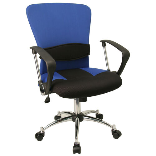 Our Mid-Back Mesh Swivel Task Chair with Arms is on sale now.