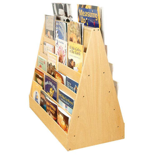 Our Birch Double Sided Mobile Book Display with Five Easy Reach Shelves on Each Side is on sale now.