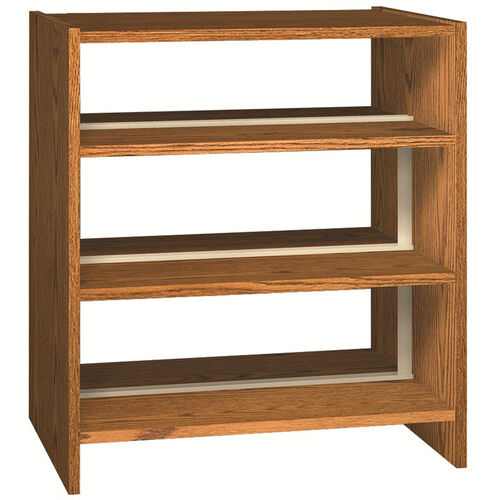 Our Glacier Series 3-Shelf Double Sided Bookcase Starter is on sale now.