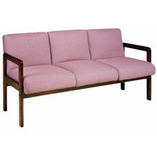 5950 Sofa with Wood Frame, Upholstered Spring Back & Seat - Grade 1