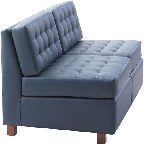 Our Quick Ship Himalaya Two-Seat Lounge Loveseat with Wood Legs is on sale now.