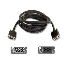 Belkin Pro Series Monitor Extension Cable - Extension Cable - 10 ft - Gray