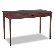Safco® Apres Table Desk - 48w x 24d x 30h - Mahogany