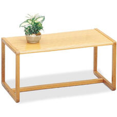 Tempe Series Coffee Table with Sled Base