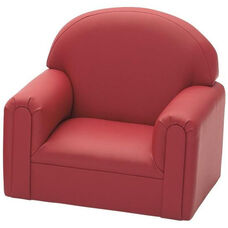 Just Like Home Enviro-Child Toddler Size Chair - Deep Red - 22