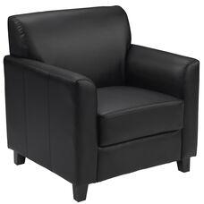 HERCULES Diplomat Series Black LeatherSoft Chair