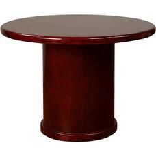 OSP Furniture Sonoma Wood Round Table - Cherry