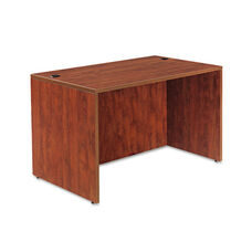 Alera® Valencia Series Straight Front Desk Shell - 47 1/4 x 29 1/2 x 29 1/2 - Med Cherry