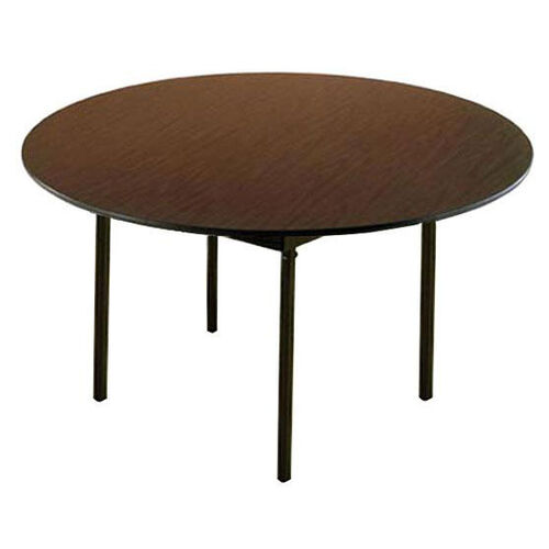 Our Customizable 720 Series Multi Purpose Round Deluxe Hotel Banquet/Training Table with Plywood Core Top - 54