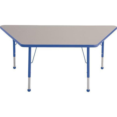 Trapezoid Shaped Particleboard Juvenile Activity Table - 24