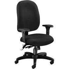 Ergonomic Task Chair - Black