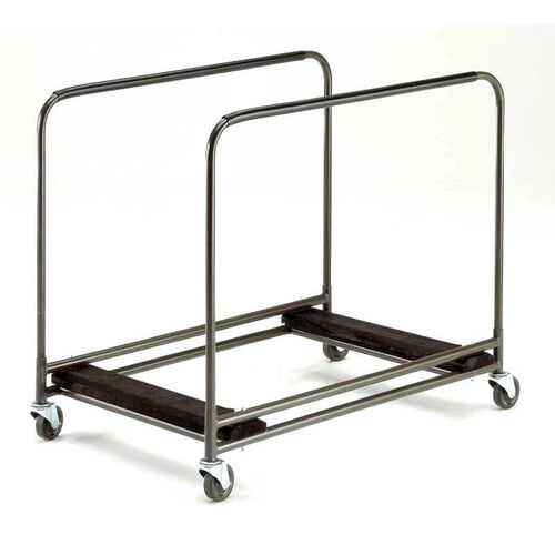 Our Standard Duty Round Table Caddy with Swivel Stem Casters - 31.25