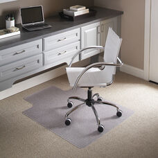 45'' x 53'' Carpet Chair Mat with Lip