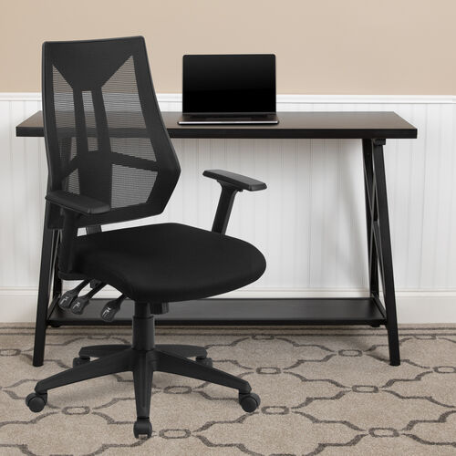 Our High Back Black Mesh Multifunction Swivel Ergonomic Task Office Chair with Adjustable Arms is on sale now.