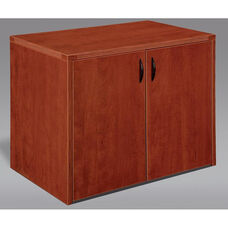 Fairplex Two Door Cabinet - Cognac Cherry