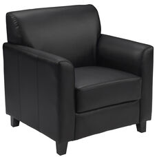 HERCULES Diplomat Series Black Leather Chair