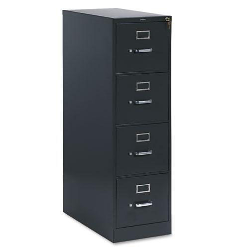 Our HON® 310 Series Four-Drawer - Full-Suspension File - Letter - 26-1/2d - Charcoal is on sale now.