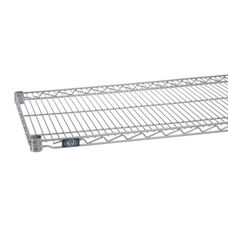Silver Epoxy Standard Wire Shelf - 24