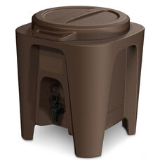 BevMax Insulated 5 Gallon Beverage Dispenser - Brown