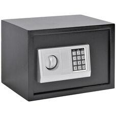 13.7''W x 9.8''D x 9.8''H Electronic Security Safe - Black