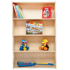 Baltic Birch Plywood Bookshelf with Tuff-Gloss UV Finish - 30