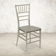 """HERCULES PREMIUM Series Champagne Resin Stacking Chiavari Chair with <span style=""""color:#0000CD;"""">Free </span> Cushion"""