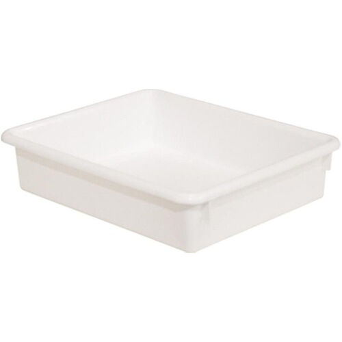 Our Solid White Plastic Letter Tray - 10.5