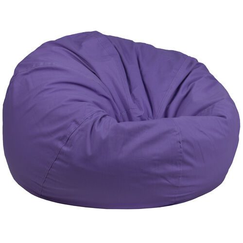 Our Oversized Solid Purple Bean Bag Chair is on sale now.