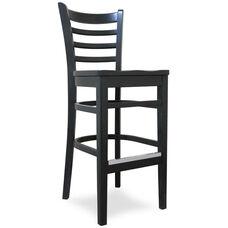 Carole Bar Stool - Wood Seat