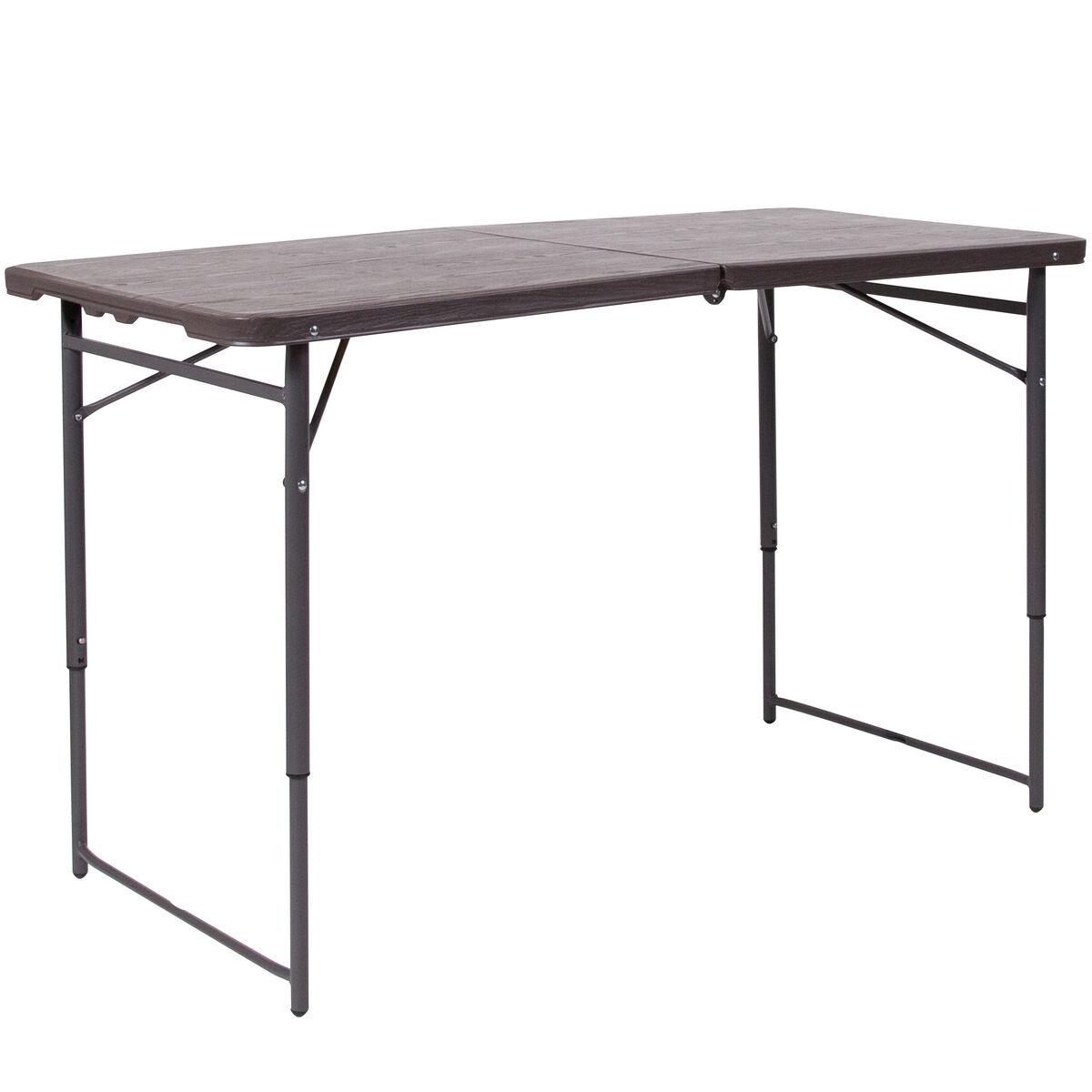 23 5x48 25 brown plastic table dad lf 122z gg churchchairs4less com