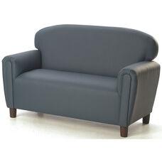 Just Like Home Enviro-Child Preschool Size Sofa - Blue - 38