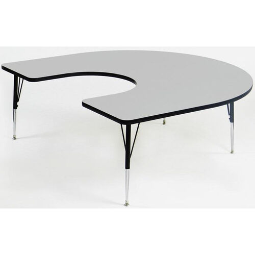 Quick Ship EconoLine Horseshoe Activity Table - 60