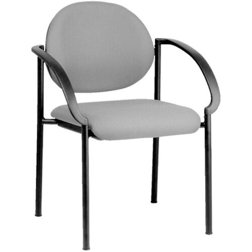 Our Quick Ship NexStep 4-Legged Metal Stacking Arm Chair is on sale now.