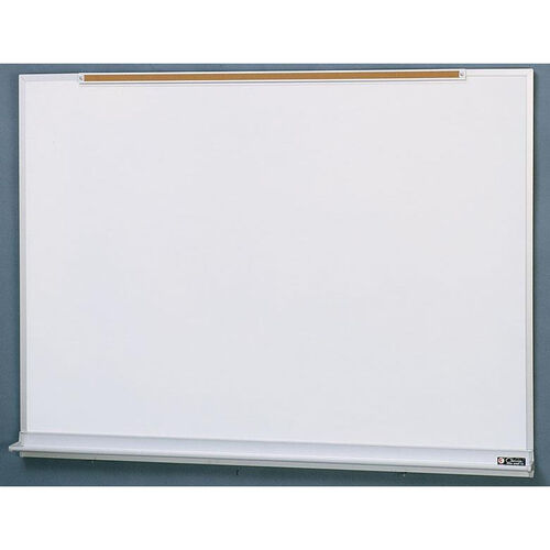 Our 800 Series Aluminum Frame Markerboard with Marker Tray and Map Rail - 48