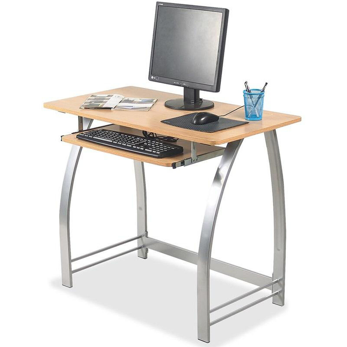 Our Lorell Maple Laminate Computer Desk Is On Now