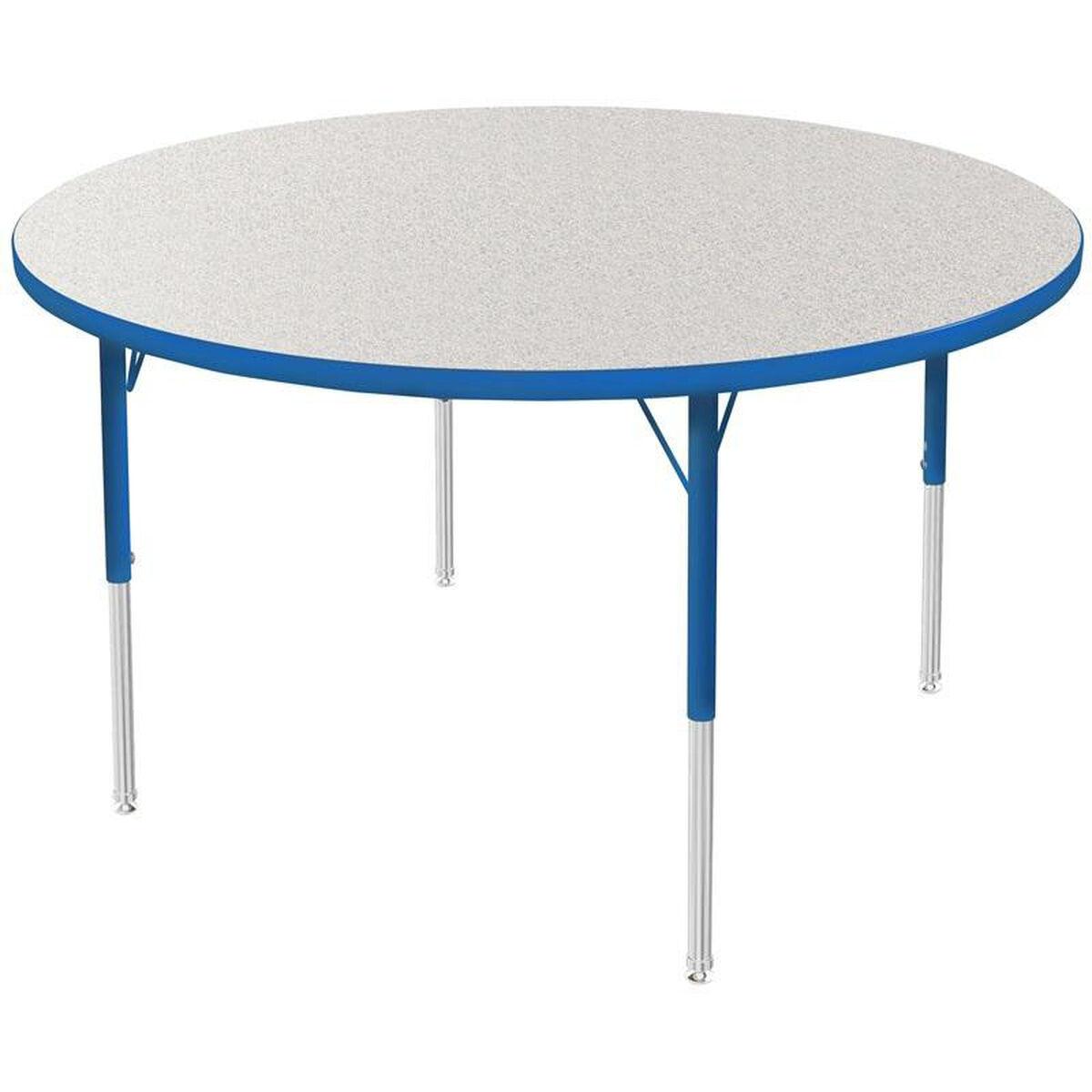 MG Round Kids Activity Table MG2244-51-ABLU   ChurchChairs4Less.com