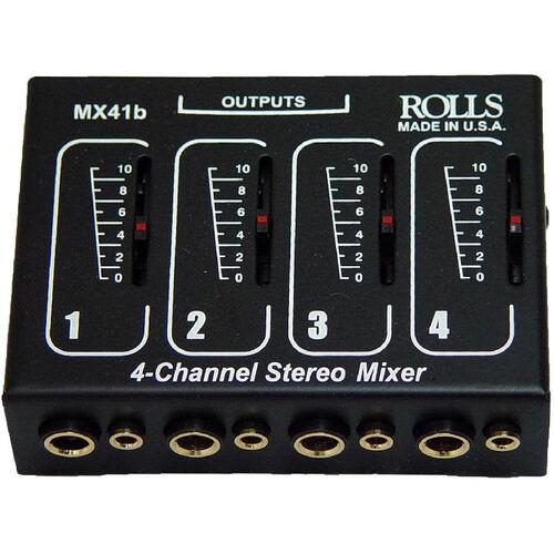 Four Input Microphone Mixer - Individual Volume Controls - 5