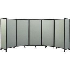 Room Divider 360® 6'10''H x 19'6''L Folding Room Divider - Fabric